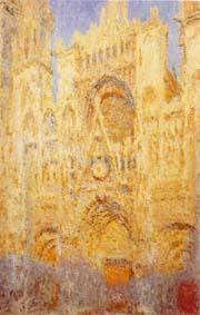 モネ《ルーアン大聖堂(夕)》1892年